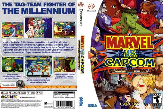 Marvel Vs. Capcom - Dreamcast - Patch - Selfboot