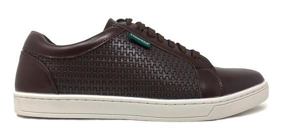 Calzado Cubavera Zapato Oxford Para Hombre Color Café Oscuro