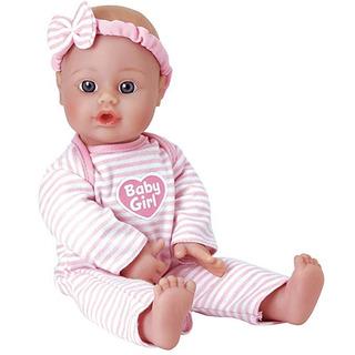 Adora Sweet Baby Girl Muñeca Lavable Cuerpo Suave Vinilo Jug