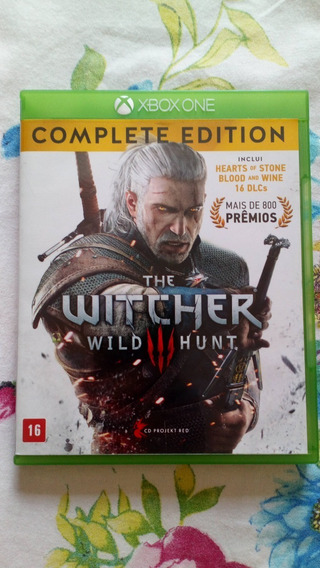 The Witcher 3 Complete Edition Xbox One Usado Mídia Física