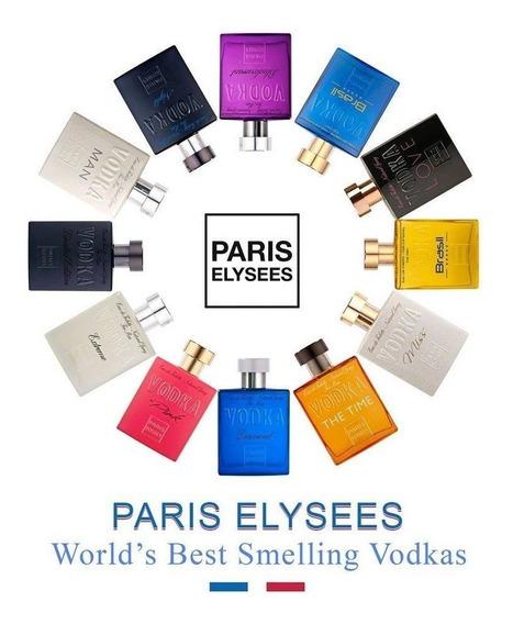 Kit Com 30 Perfumes Paris Elysees 100 Ml Mais 25 Amostras 3m