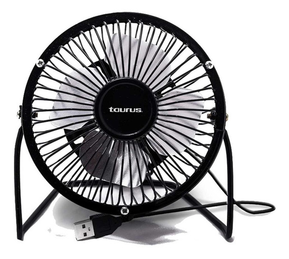 Ventilador Taurus Mini Fan Escritorio 4 Pul Metalico