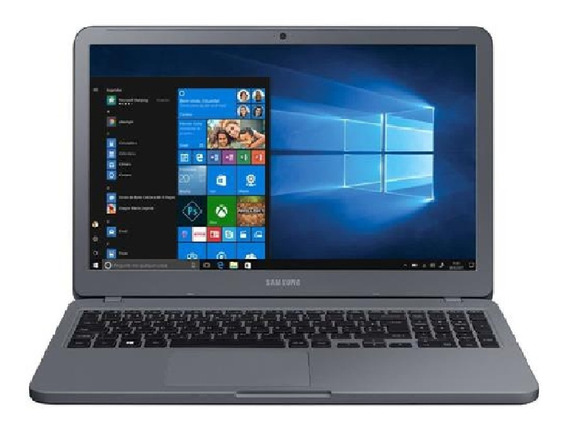 Notebook Samsung Essentials E20 Intel Dual Core - 4gb 500gb