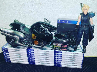 Final Fantasy Vii Renake Ps4 Fisico Listo Para Envío!!