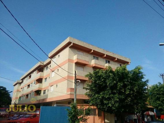 Entrada R$ 31 Mil + Saldo Super Facilitado! Apartamento Com 1 Dormitório, 51 M² Por R$ 155.000 - Centro - Mongaguá/sp - Ap1009