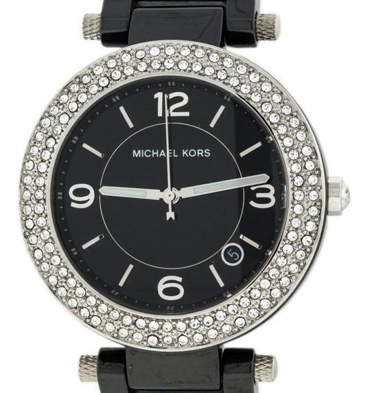 Relógio Luxo Michael Kors Mk5309 Cerâmic Original