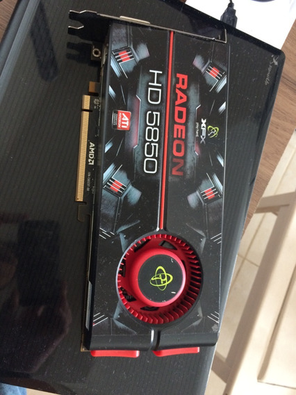 Placa De Vídeo - Xfx Ati Radeon Hd 5850 (defeito)