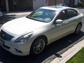 Infiniti G37 3.7 Sedan Premium 2013, Blanco , Interior Beige