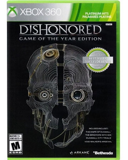 Dishonored Game Of The Year Edition Xbox 360 Nuevo