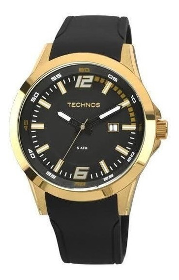 Relógio Masculino Dourado Technos 2115kpu/8p Performance-rac