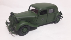 Miniatura Do Citroën 15cv Ii 1938 Germany 1:24