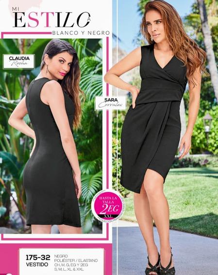 Vestido Negro 175-32 Cklass Primavera-verano 2020
