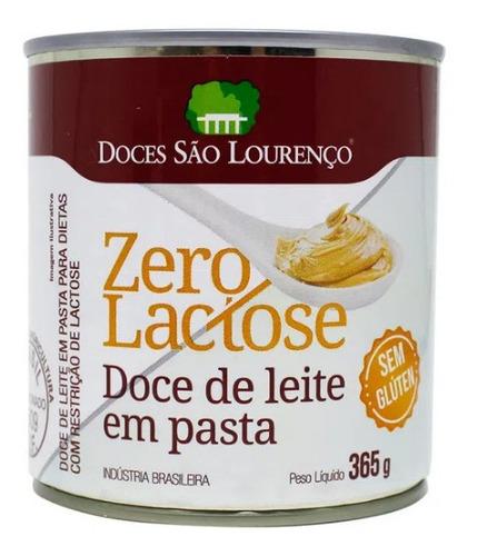 Imagem 1 de 1 de Doce De Leite Zero Glúten Zero Lactose São Lourenço 345g