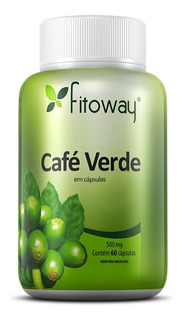 Cafe Verde Fitoway 500mg - 60 Caps