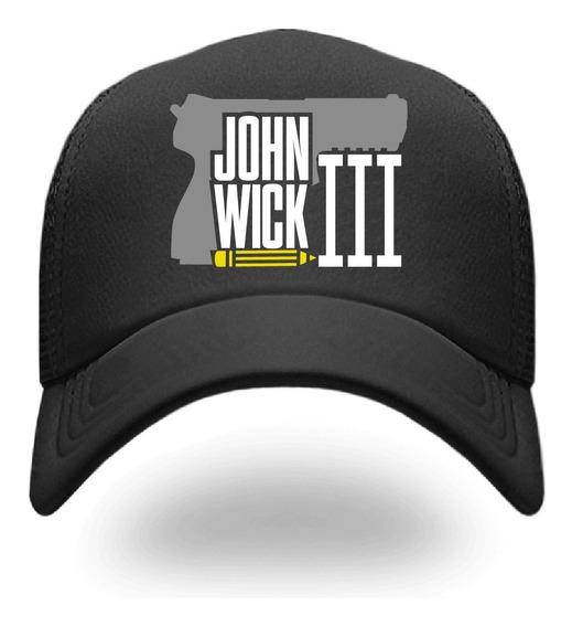 Gorra John Wick Iii, Envío Gratis