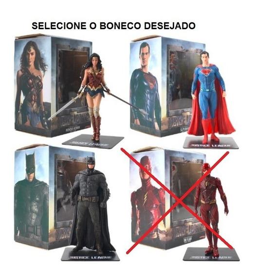 Boneco Liga Da Justiça Batman Superman Mulher Maravilha