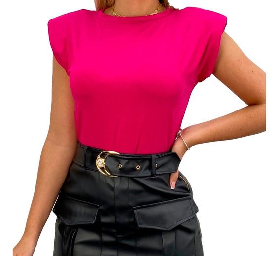 Blusa Feminina Muscle Tee Várias Cores Oferta Limitada Nova