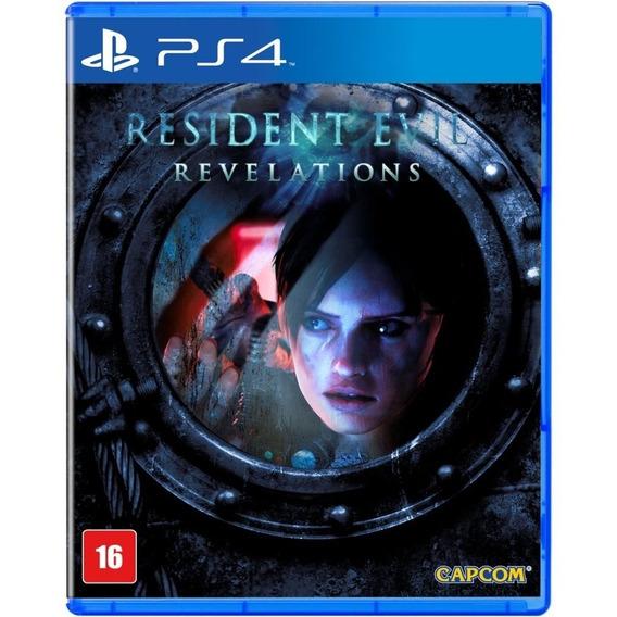 Resident Evil Revelations Ps4 Disco Fisico Português Lacrado