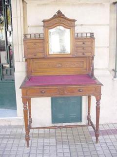Antiguo Bureau A La Dama Escritorio Luis Xv Petit Mueble