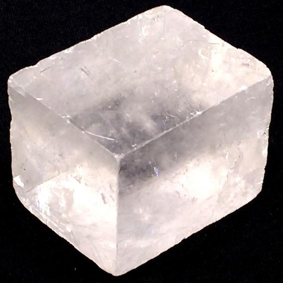 Calcita Ótica 5cm 129g Pedra Bruta Natural Qualidade Coleção