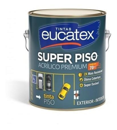 Tinta Piso Eucatex 3,6 L - Premium Externo
