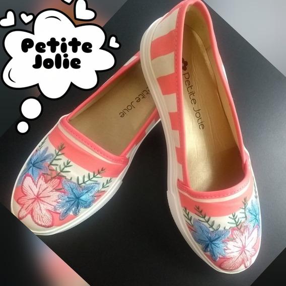 Tênis Lupita Rosa Coral Petite Jolie