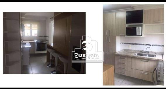 Apartamento Semi-mobiliado Com 3 Dormitórios À Venda E Locação 106 M² Por R$ 763.000 - Casa Branca - Santo André/sp - Ap6748