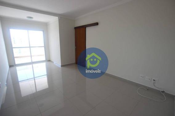 Edifico Redentor Apartamento Com 3 Dormitórios Para Alugar, 84 M² Por R$ 1.600/mês - Higienópolis - São José Do Rio Preto/sp - Ap7543