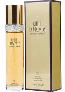 White Diamonds 100ml E. Taylor 100%original Msi Envio Gratis