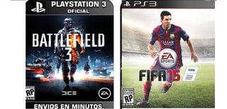 Battlefield 3 Ps3 Con Fifa 15 De Obsequio Digital Disponible