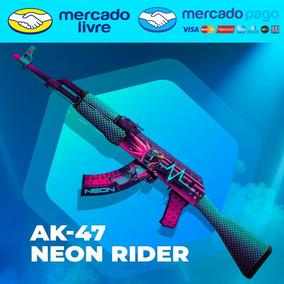 Ak-47   Neon Rider - Skin Csgo