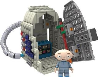 Knex Family Guystewie Y Time Machine Building Set