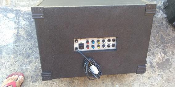 Caixa De Som Ativa E Passiva Com Entrada Para Microfone