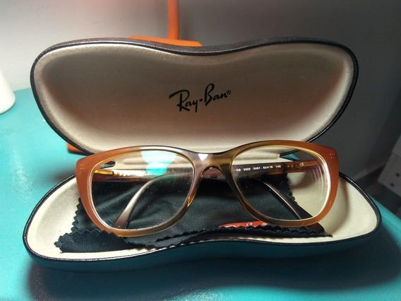 Armação Óculos De Grau Ray Ban Original Rb-5322 Usada