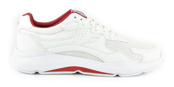 Tenis Urbanos Para Hombre Lob Footwear 797-9979 Blanco Nuevo Oi19