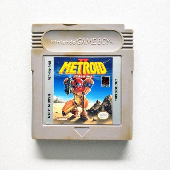Metroid 2 Samus Return Game Boy Origina Gameboy