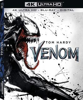 Blu Ray Venom 4k Ultra Hd Spider Man Marvel Dc