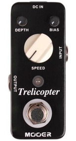 Pedal Mooer Trelicopter Tremolo - Mtot Com Nota Fiscal