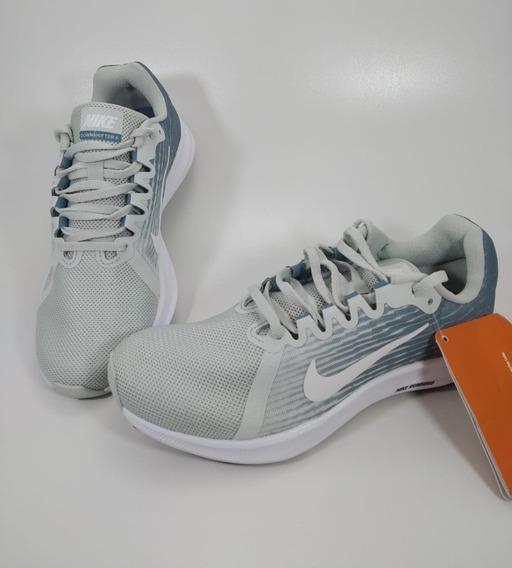 Tênis Wmns Nike Downshifter 8 Azul/branco 180030