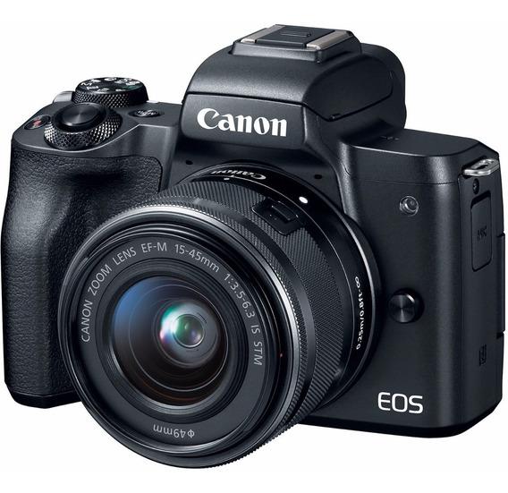 Canon Eos M50 + Bateria Extra + Cartão 32gb