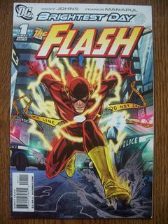Comic The Flash Brightest Day #1 Dia Mas Brillante En Ingles