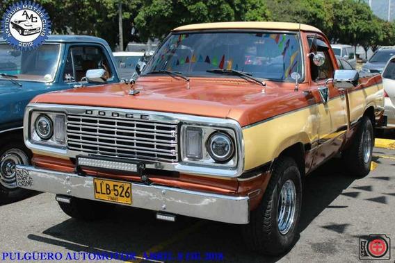 Dodge D100 Cabina Sencilla