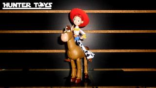 Disney, Toy Story, Jessie, Tiro Al Blanco, Figuras
