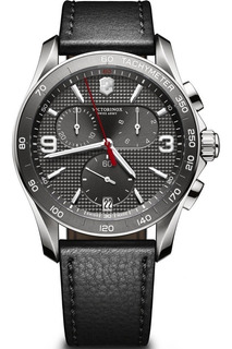 Reloj Victorinox 241657 Chrono Classic Suizo Agente Oficial