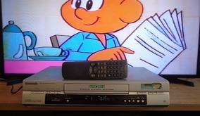 Video Cassete Panasonic Nv-sj435br + Controle