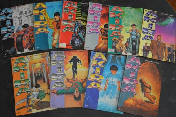 Akira Edições 1 A 7 E 9 A 11 Hq