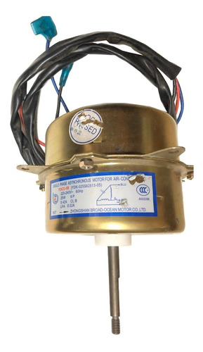 Motor Para Aire Acondicionado 1 Eje Ydk25-6b 25 W 220 V