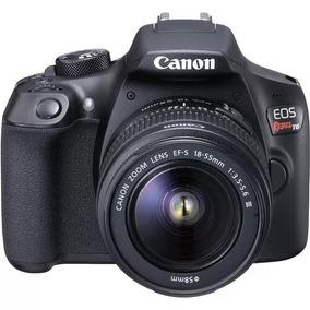 Câmera Digital Canon Rebel Eos T6 Kit 18-55 C/bolsa Brinde