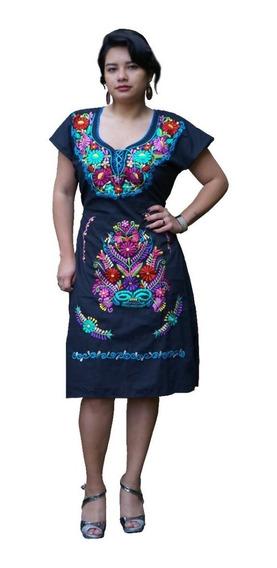 Vestidos Mexicanos Kimonas Bordadas A Maquina