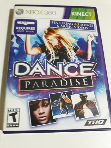 Kinect Dance Paradise Xbox 360 Mídia Física